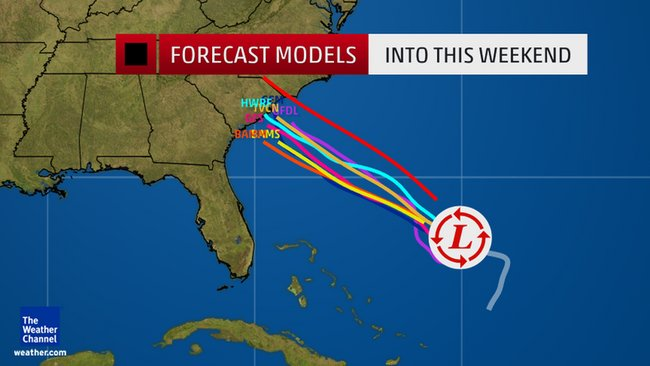 Keeping a close eye on Invest 91-L