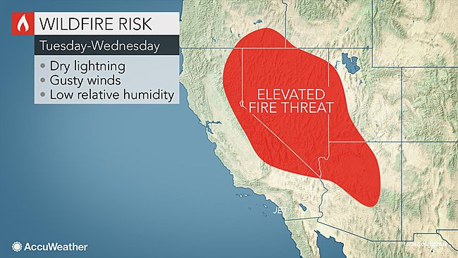 Conditions ripe for wildfire in the West