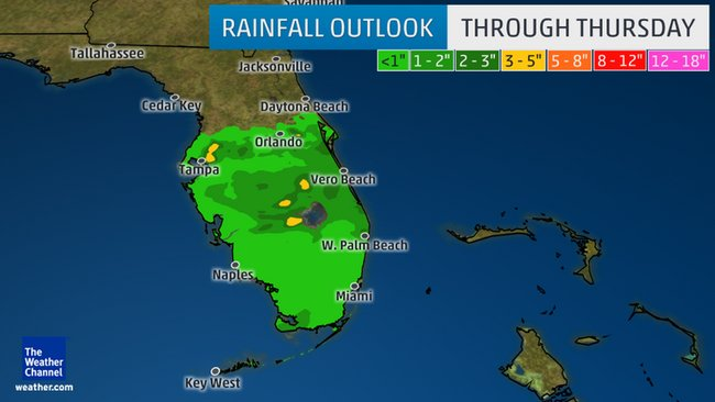 Florida under Flood Watches