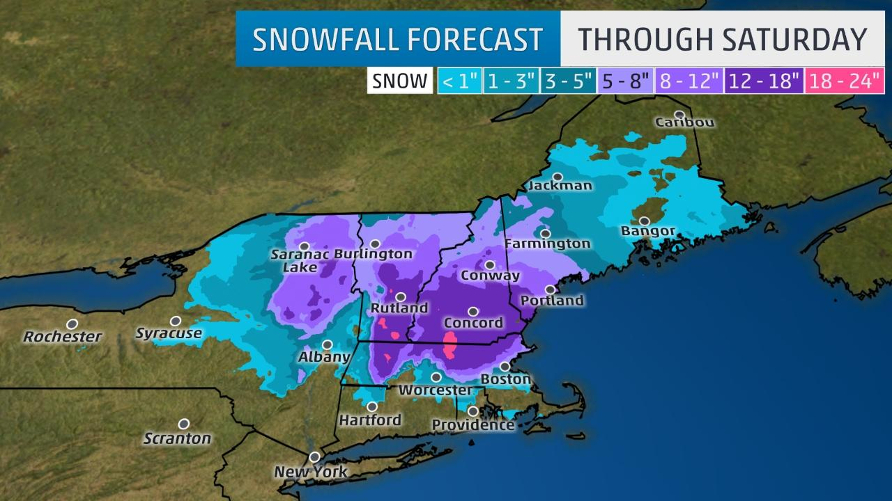 Winter storm Theseus to bring spring snow to Northeast